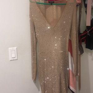 Shimmery short dress